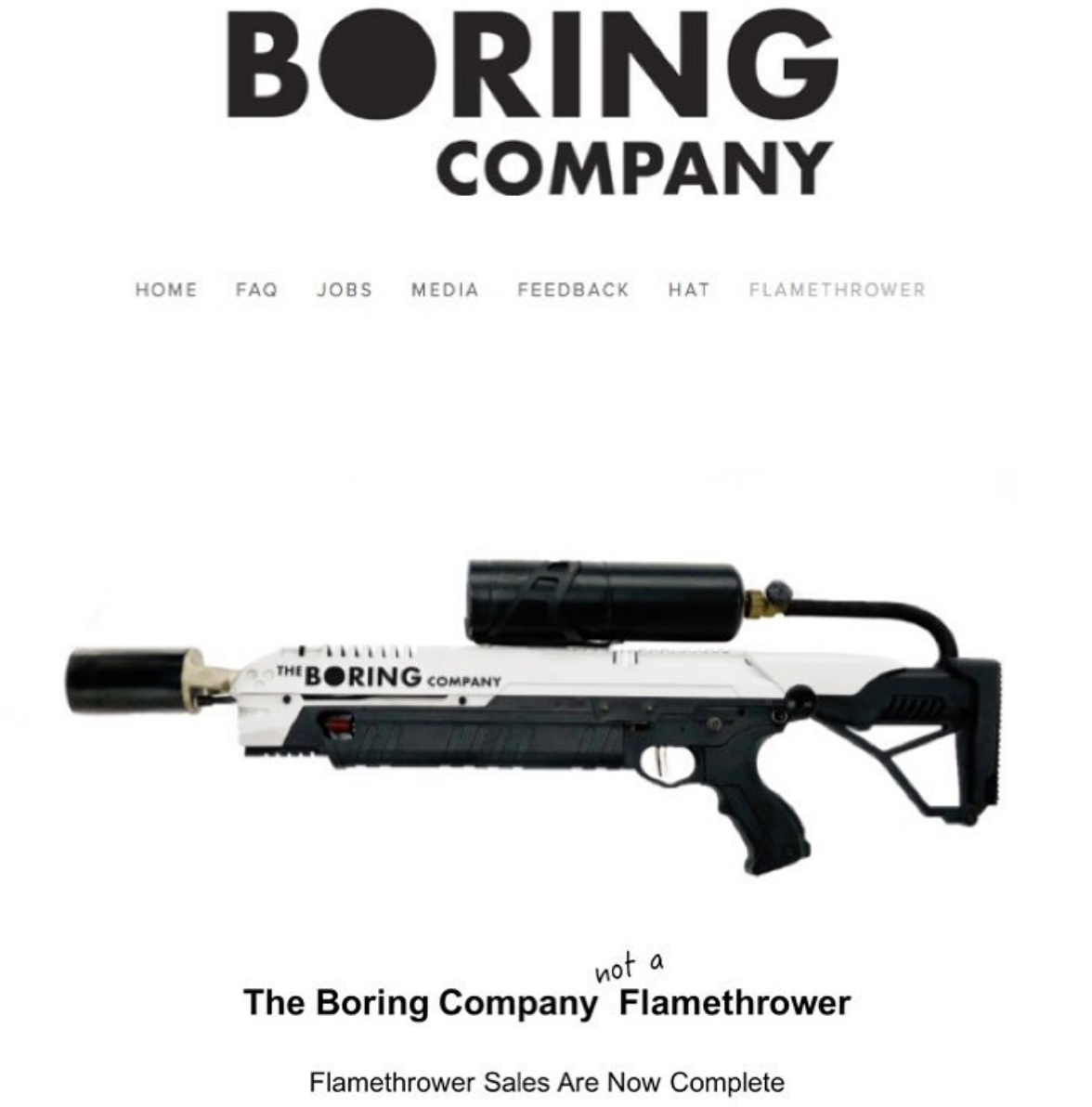 5c531c12e650 Swag from Elon Musk's Boring Company hits eBay for thousands of ...