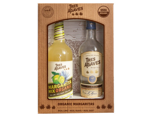 TRES AGAVES – TEQUILA & MIXER BOX