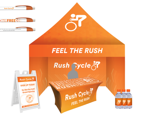 RUSH CYCLE – MARKETING COLLATERAL