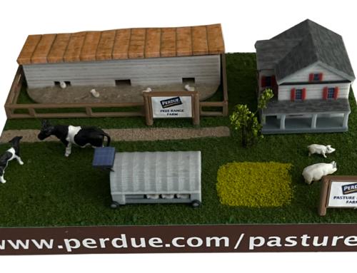 PERDUE FARMS – CUSTOM 3D DIORAMA